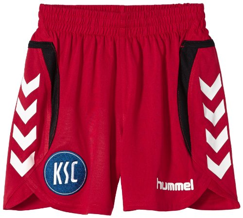 Hummel, Pantaloni corti Bambino Team Player, Rosso (True Red Ksc), 164 / 176 cm