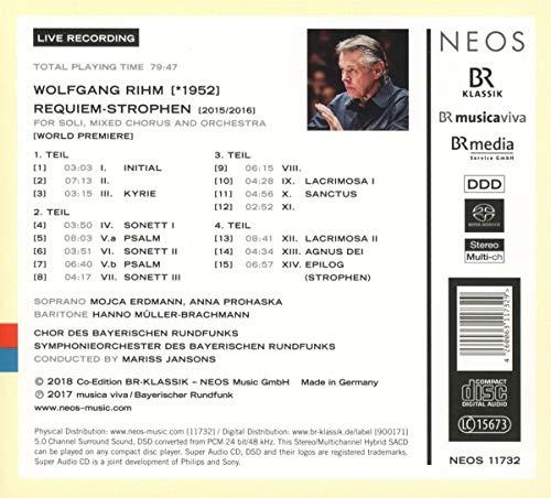 Requiem Strophen [Import allemand]