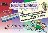 Einfacher!-Geht-Nicht: 32 Kinderlieder, Weihnachtslieder, Hits & Evergreens in C-DUR - für die Mundharmonika SPEEDY mit CD: Das besondere Notenheft für Anfänger