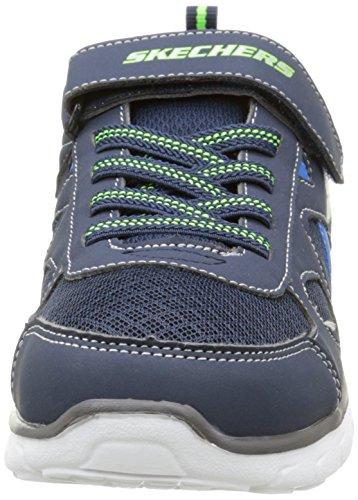Skechers - Vim Speed Thru, Scarpe da ginnastica Bambino Blu (Marine)