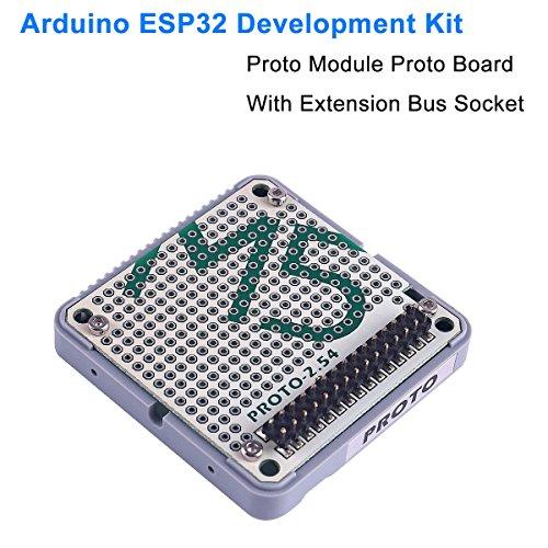 MakerHawk ESP32 Sviluppo Tavola Proto Board Proto Module con Presa Board Ufficiale per Arduino ESP32 Development Kit M5Stack