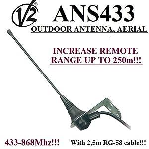 Antena-aerial-V2-ans433-433-MHz-de-868mhz-50-ohmios-con-25-m-de-cable-RG58--Motor-para-garaje