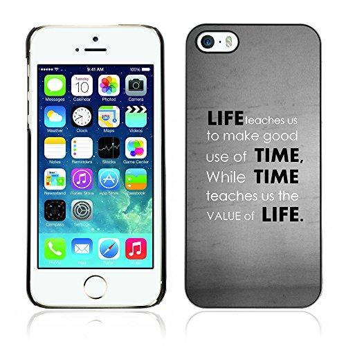 Graphic4You Stay Real Stay Loyal Englisch Zitat Nachricht Harte Hülle Case Tasche Schutzhülle für Apple iPhone 5 und 5S Design #18