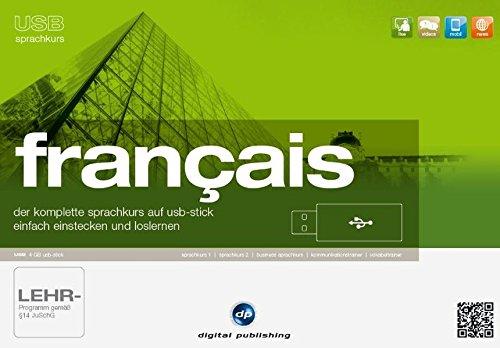 USB Sprachkurs Français: Der komplette Französischkurs auf USB-Stick - Einfach einstecken und loslernen