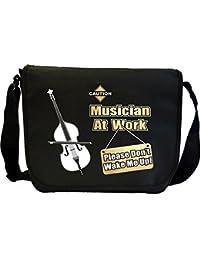 Double Bass Dont Wake Me - Sheet Music Document Bag Musik Notentasche MusicaliTee