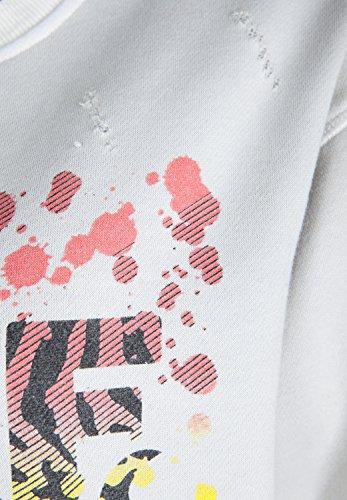 True Religion - Veste Sweat - Décontracté - Uni - Manches Longues Femme white