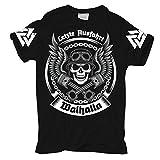 Männer und Herren T-Shirt Letzte Ausfahrt Walhalla