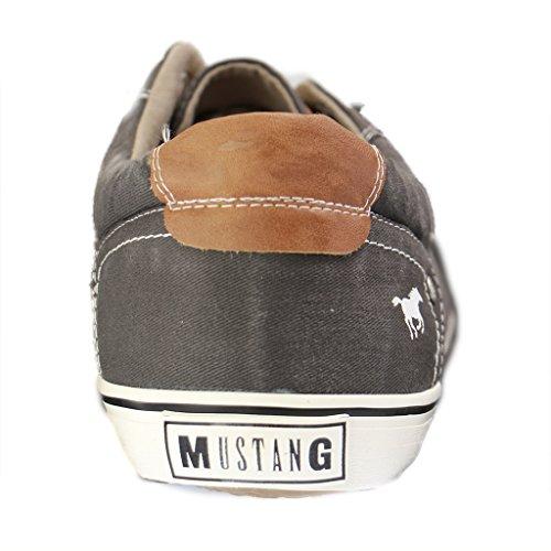 Mustang 4103-301, Baskets Basses homme Grau (20 dunkelgrau)