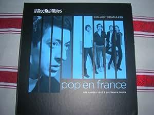 Coffret Collectorama 10 Les inrockuptibles Pop en France 2 CD + Livre + Photos