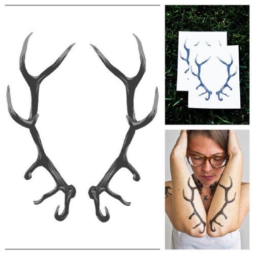 tattify-tatouages-temporaires-tamures-taxidermie-set-de-2