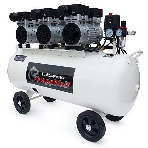 KnappWulf Kompressor Luftdruckkompressor KW2100 mit 100L Kessel 3 Motoren a 750W