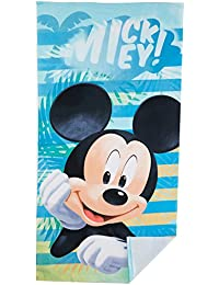 Disney Mickey Mouse para niños de baño toalla de playa de microfibra 70 x 140 cm