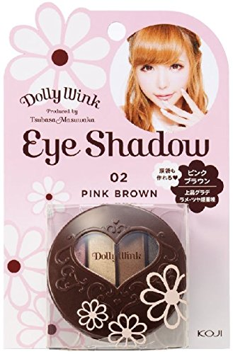 Koji Dolly Wink Eye Shadow 02 Pink Brown (New Substiture Version)