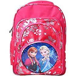 Best Shop School Bag for Girls,4-10 yrs ,Kids,School bag, pink colour with printed characters Backpack