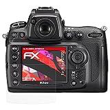 atFoliX Anti-Casse Protecteur d'écran pour Nikon D700 Anti-Choc Film Protecteur - Set de 3 FX-Shock-Antireflex Amortisseur Anti-éblouissement Film Protection d'écran