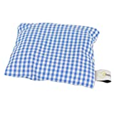 Lavendelkissen 10x10 cm blau/weiß kariert 100% Baumwolle Bezug zur Entspannung und als effektiver Mottenschutz handarbeit aus Österreich