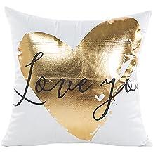 Kinlene Textura de mármol geométrica Throw Pillow Case Funda de cojín Sofá Decoración ...