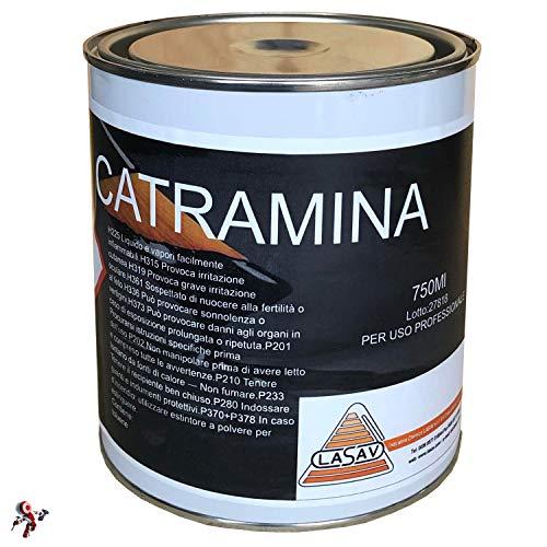 Bitumen-Katramin flüssiger Versiegelung schwarz 750 ml