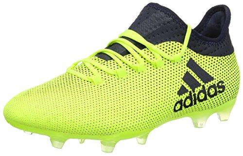 san francisco fd5b5 c9ac9 adidas X 17.2 Fg Scarpe da Calcio Uomo, Giallo (Solar Yellow Legend Ink)