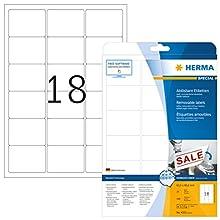 HERMA 4203 Bianco Etichetta per stampante autoadesiva etichetta per stampante