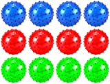 Set Of 12 4 Spiky Spiked Ball Childrens ...