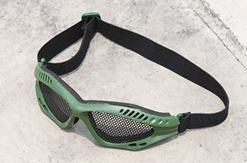 TMC Metall Draht Goggle (OD) für Tactical Airsoft Outdoor Spiel (Airsoft Draht)