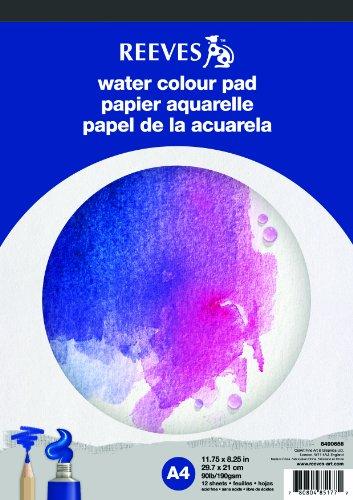REEVES 8490656 Block Aquarellpapier A4