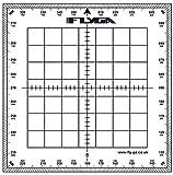 Carte Navigation Rapporteur (carré)–pour Lapl, PPL (A), PPL (H) & CPL aviation pilotes + Marine, le Bateau et bateau Captains...
