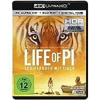Life of Pi - Schiffbruch mit Tiger  (4K Ultra HD