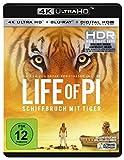 Abbildung Life of Pi - Schiffbruch mit Tiger  (4K Ultra HD (+ Blu-ray)