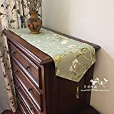 Country-Tisch Stoff TV-Schrankbett Flaggentisch Flagge Mode-Couchtischbezug Handtuch Tischdecke minimalistisch wie abgebildet 30x180 cm (11 8x71 Zoll)