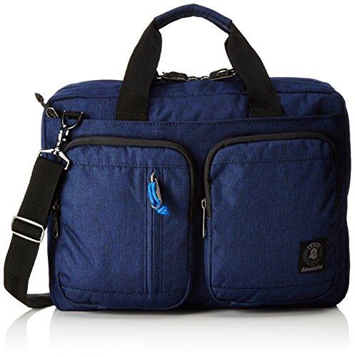 Invicta Office Borsa Messenger, 37 cm, 13 litri, Blu