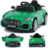Mercedes-Benz GT-R GTR SoftStart Kinderauto Kinderfahrzeug Kinder Elektroauto Grün