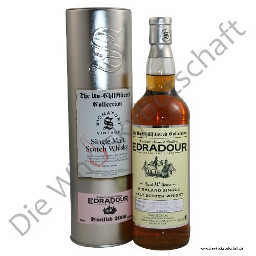 edradour whisky Edradour 2008 Un-Chillfiltered Collection Signatory