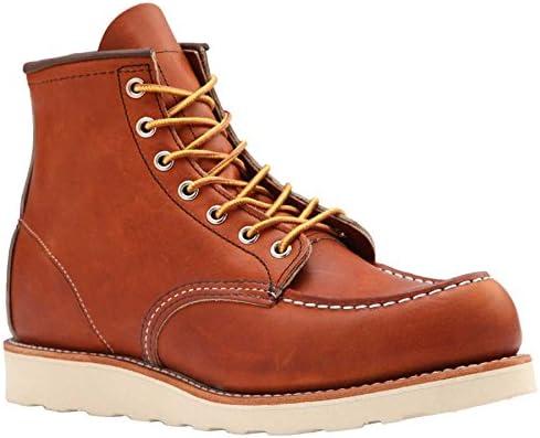 Red Wing Moc-dedo del pie Clásico botas + gratis bote de Visón Aceite + Pulido Gratis Paño