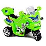 Kindermotorrad Maximum Elektromotorrad Kinder Bobby von 3-5 Jahre 4 Farben (Grün)