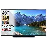 SMART TV 4K 49 Pollici Televisore Ultra HD Toshiba 49V6763DA HDR Cinema Serie Tv...