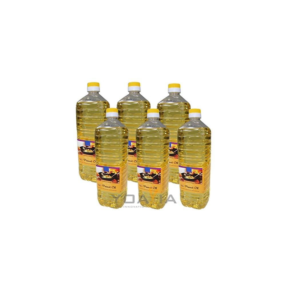 6er Pack 100 Erdnuss L 6x 1000ml Erdnussl Peanut Oil Wok L