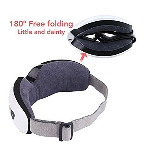 Zoom IMG-2 jiuhuazi pieghevole ricaricabile eye massager