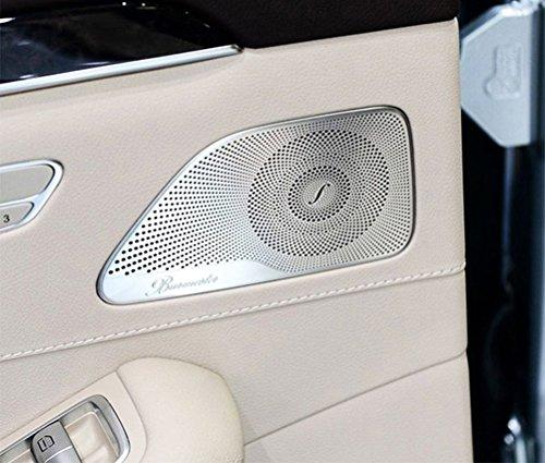 4/Set für W222S Class S320S3502014?2017car-styling Burmester Design Alu Audio Tür Lautsprecher, Verkleidung