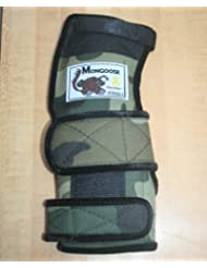 Mongoose Lifter Bowling Wrist Support Right Hand, Extra Large, Camo by Mongoose Products