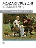 Mozart/Busoni: Duettino concertante  |  Klavier  |  Buch (Alfred Masterwork Edition)