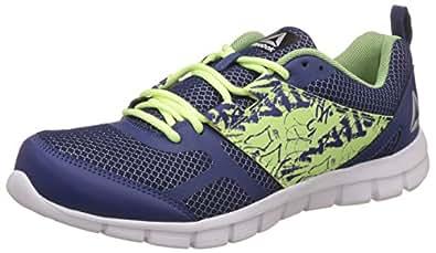 Reebok Men's Speed Xt Blue/Flash/Silver/Wht Running Shoes - 10 UK/India (44.5 EU)(11 US) (BS9412)