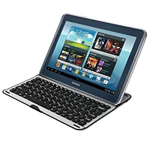 Coque clavier en AZERTY (version FRANCAISE) Keyboard pour tablette Samsung Galaxy Note 10.1