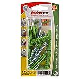 Tacos Fischer SX GREEN, 8 x 40 S K, 524823