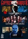 Coffret 100% horreur 3 films : the crow 3 ; le pacte du sang ; cut