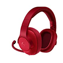 Logitech G433 7.1 Surround Gaming Headset, Kırmızı