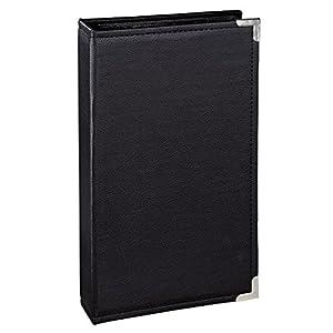 Hama Einsteckalbum New York City (für 300 Fotos im Format 10x15, schwarze Innenseiten, 3 Einsteck-Taschen pro Seite) schwarz
