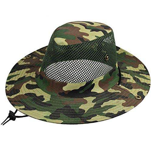 escalade extérieure chapeau/Chapeau de seau/Pare-soleil/Casquettes camouflage/Grand chapeau A