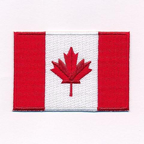 60 x 35 Mm, motif drapeau canada, ottawa, canada flag patch patch patch 0636 b